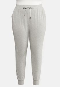 Plus Size French Terry Joggers