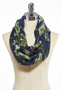 Swirled Marble Infinity Scarf