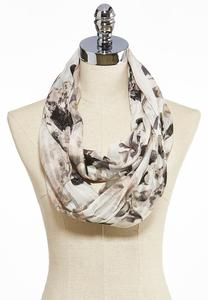 Hydrangea Blooms Infinity Scarf