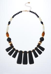 Mixed Bead Tribal Necklace