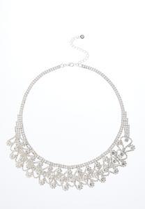 Cupchain Rhinestone Necklace