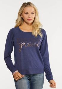 Plus Size Amazing Grace Sweatshirt