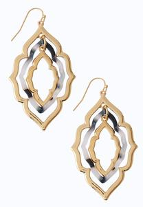 Moroccan Lucite Dangle Earrings