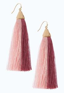 Soft Tassel Earrings