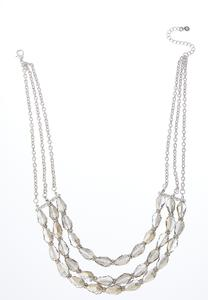 Layered Glass Necklace