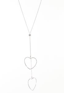 Seeing Double Hearts Necklace
