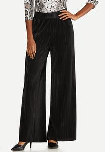 Petite Pleated Wide Leg Pants