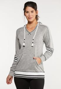 Athletic Trim Hoodie