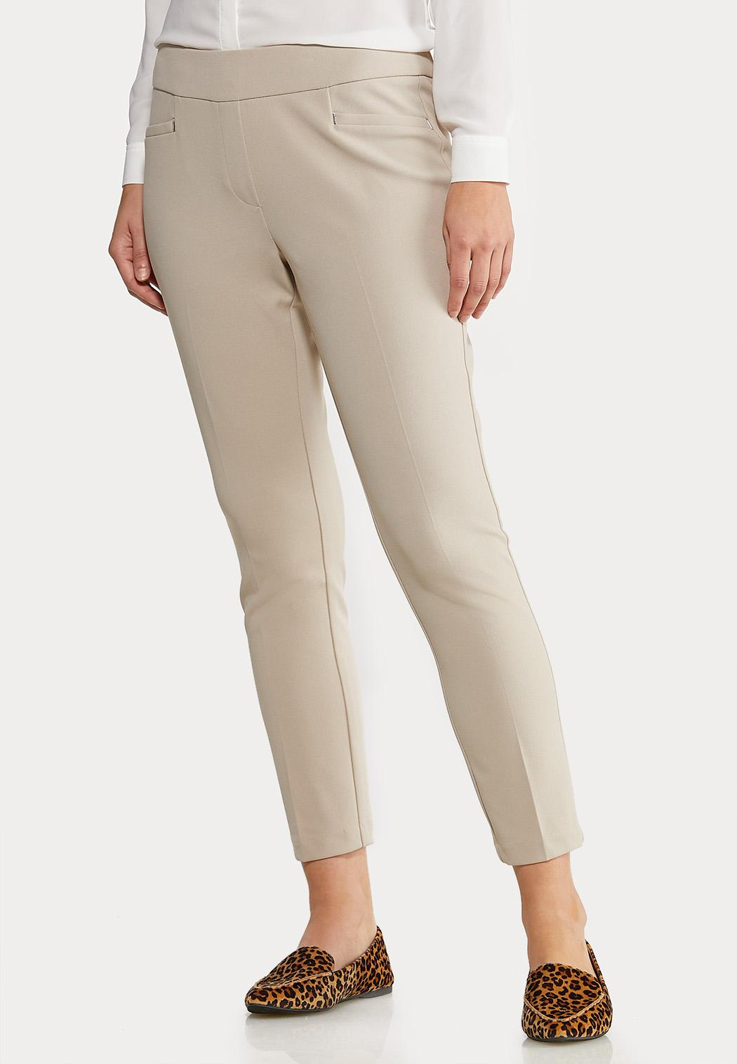 Petite Slim Ankle Pants