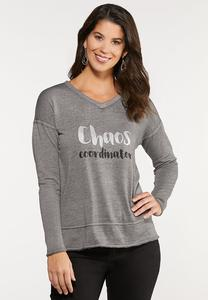 Plus Size Chaos Coordinator Top