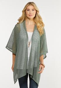 Sequin Textured Kimono