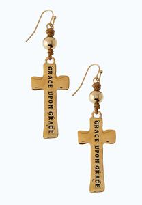 Gold Grace Earrings