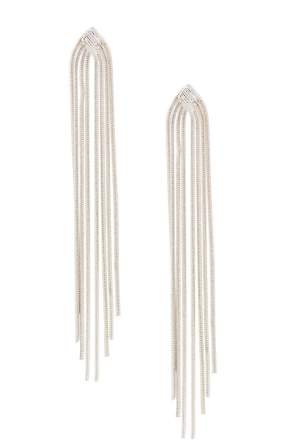 Modern Elegant Drop Earrings