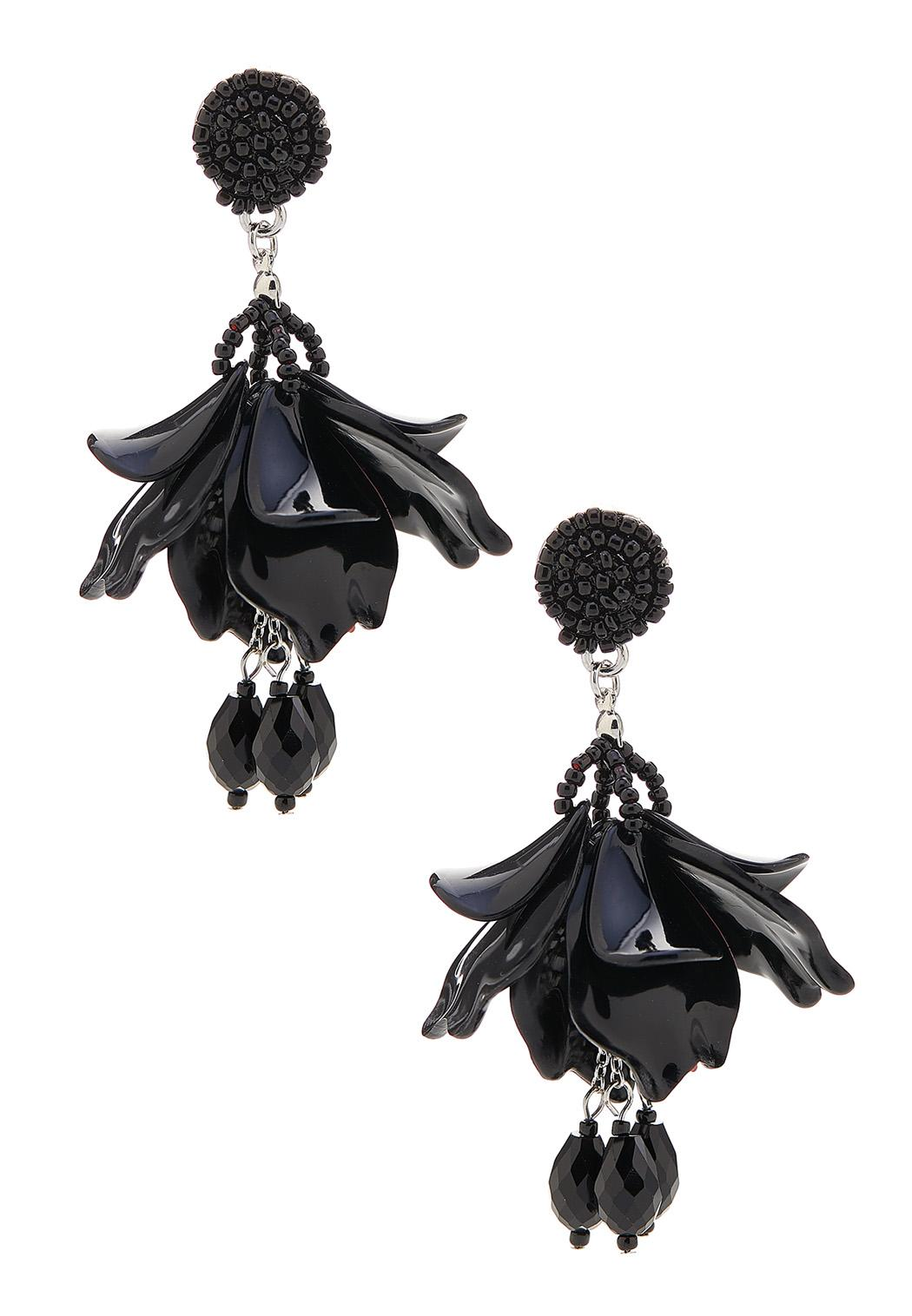 Dangle Acrylic Petal Earrings