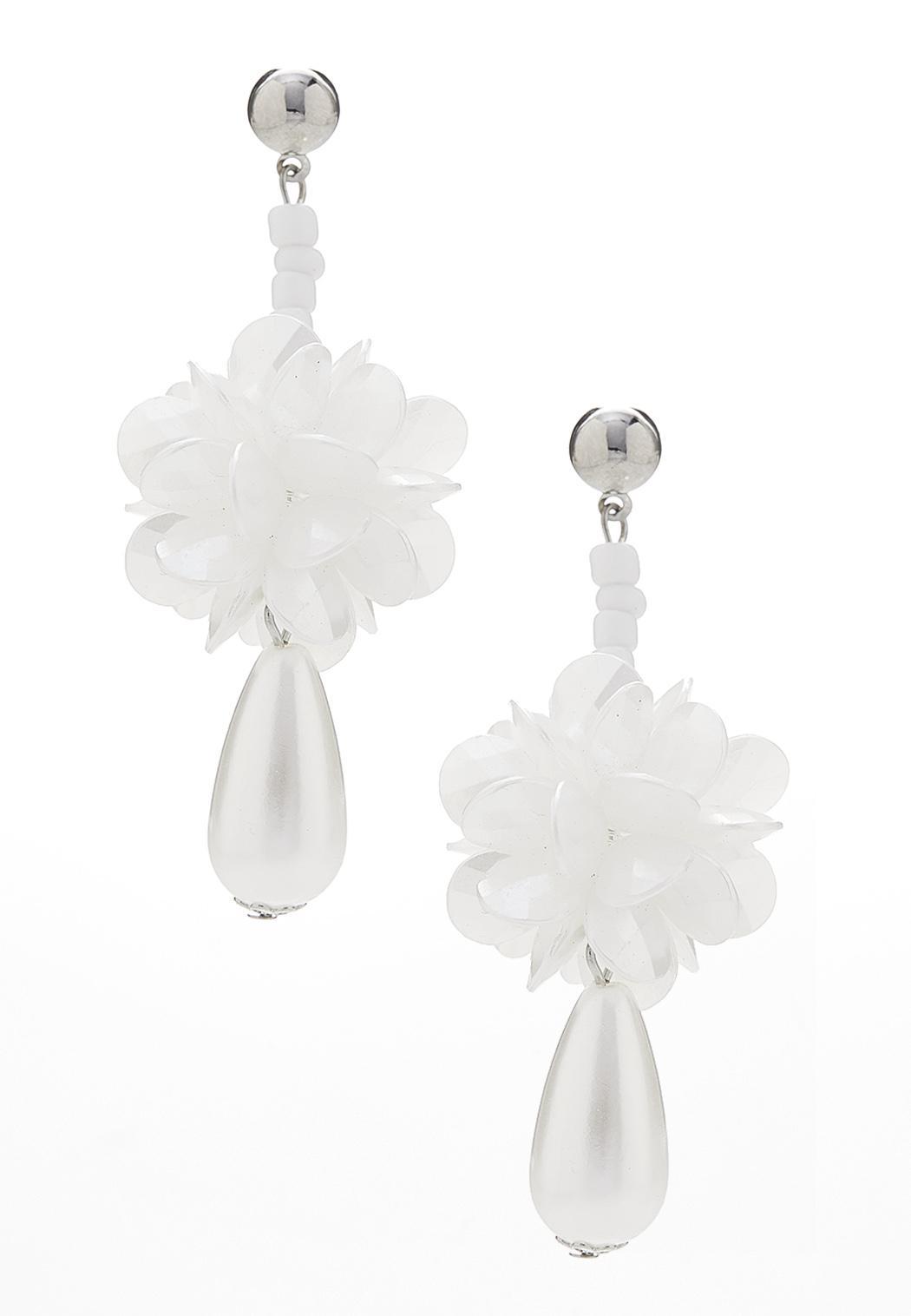 Petals And Pearls Earrings
