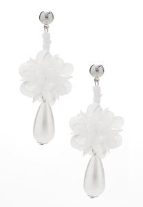 Petals And Pearls Earrings