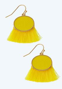 Sunshine Fringe Earrings