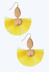 Wispy Fan Earrings