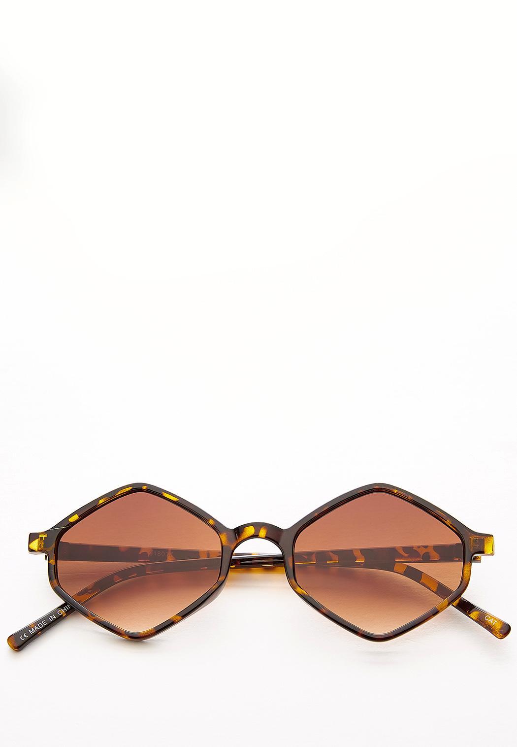 Geo Tortoise Sunglasses