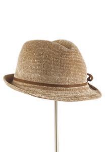 Chenille Fedora Hat