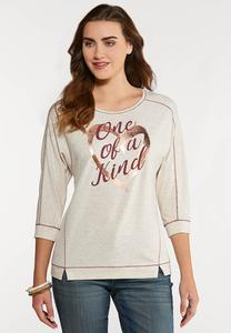 Plus Size One Of A Kind Top