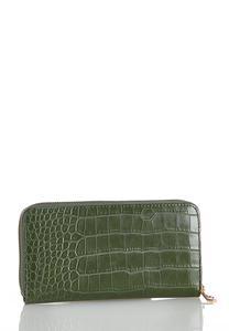Olive Croc Wallet