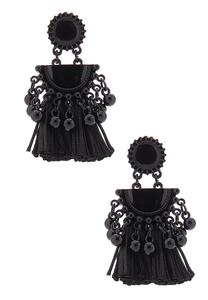 Fancy Tassel Drop Earrings