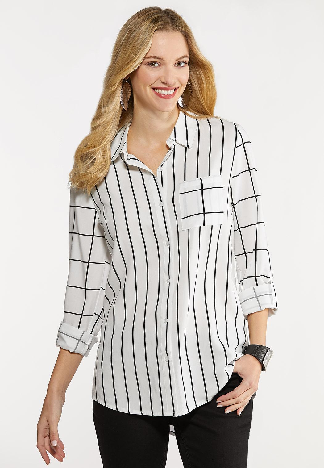 Mixed Stripe Tunic