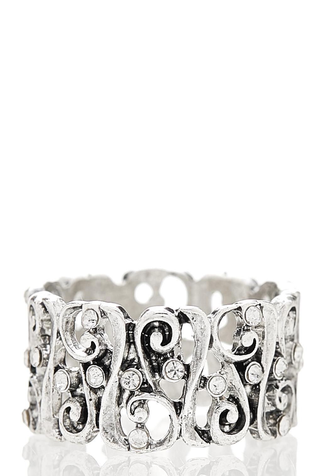 Antique Silver Filigree Ring