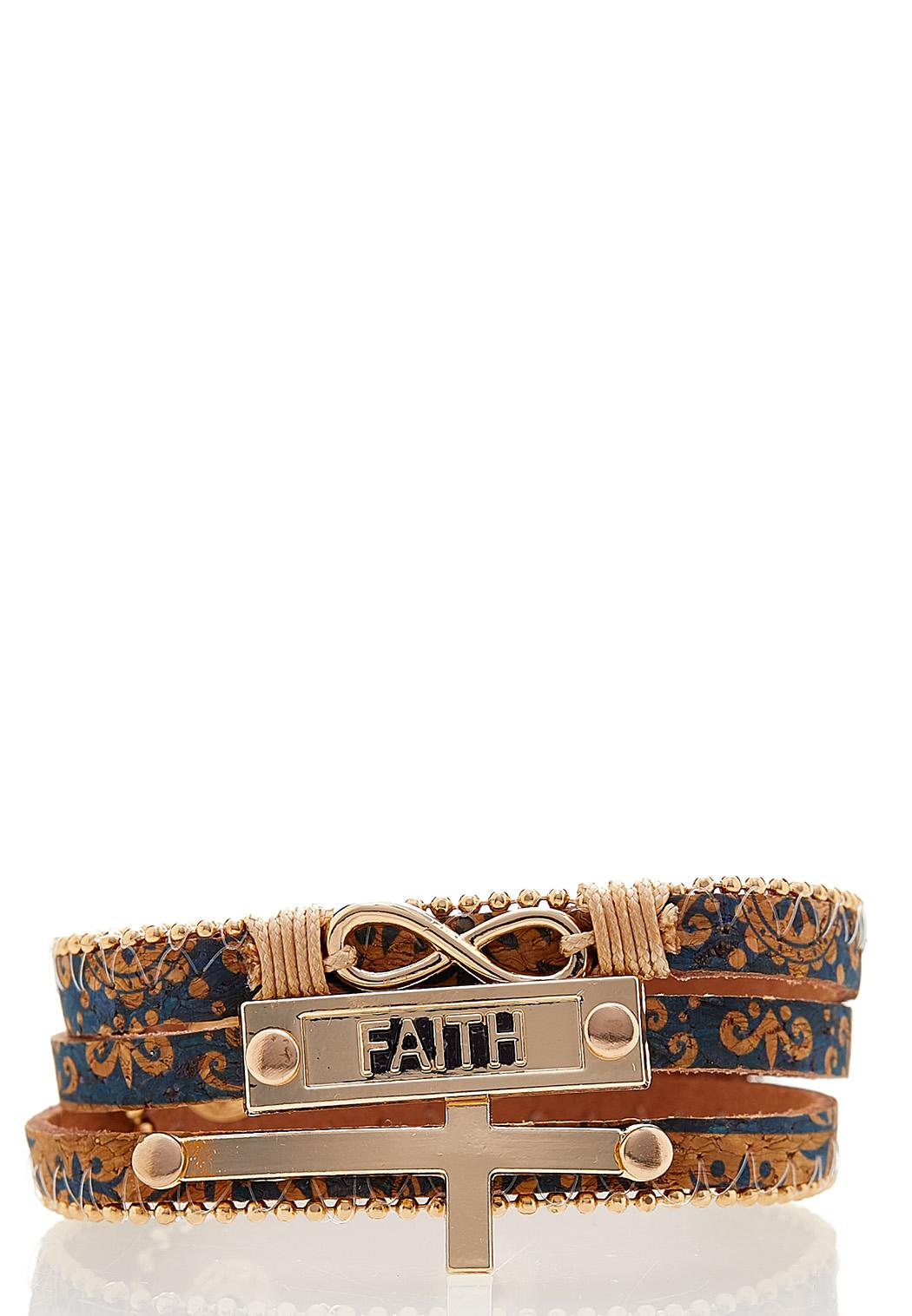 Inspirational Wrap Bracelet