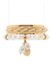 Golden Glam Bracelet Set