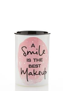 Smile Makeup Ceramic Holder
