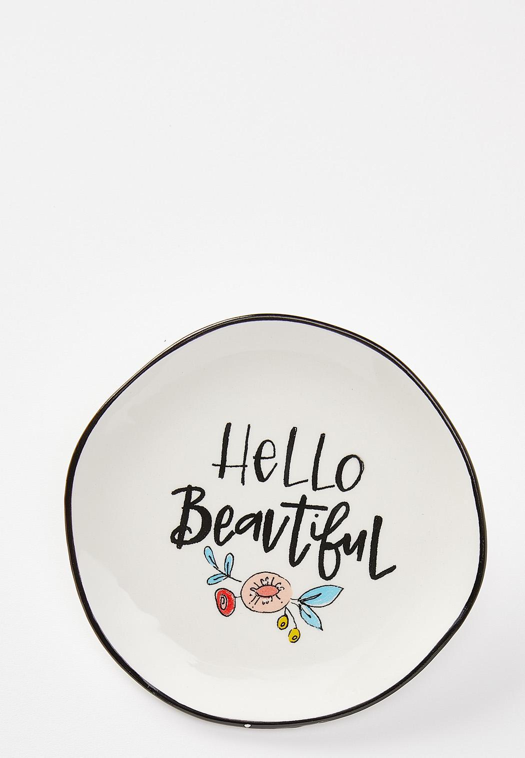 Hello Beautiful Trinket Dish