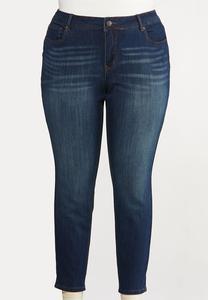 Plus Petite Curvy Skinny Jeans