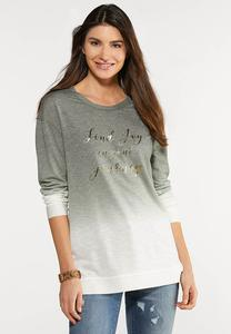 Plus Size Find Joy In Your Journey Top