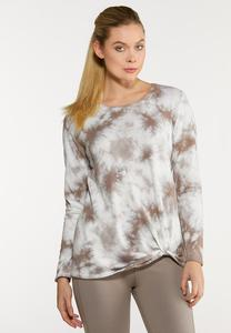 Twisted Tie Dye Sweatshirt