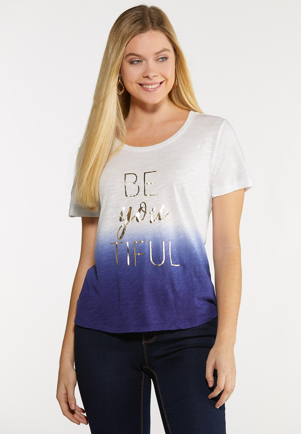 Plus Size Be You Tee