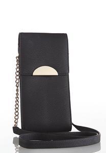 Classic Black Wallet Crossbody