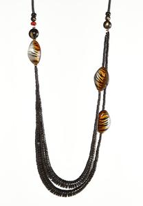 Safari Wooden Necklace