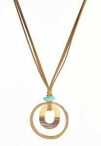 Boho Vibes Pendant Necklace