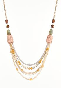 Layered Multi Row Necklace