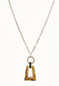 Tortoise Door Knocker Necklace