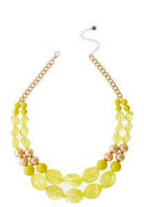 Sweet Spring Acrylic Necklace