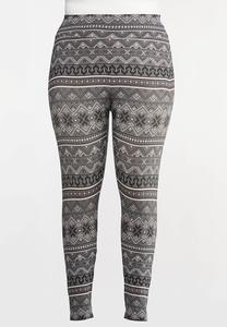 Plus Size Snow Day Leggings