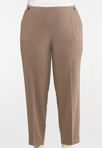 Plus Petite Slim Utility Pants