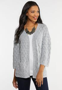 Diamond Cardigan Sweater