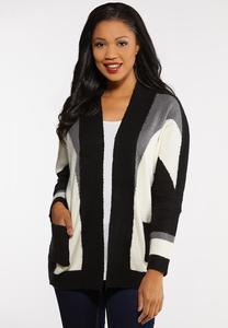 Gray Skies Cardigan Sweater