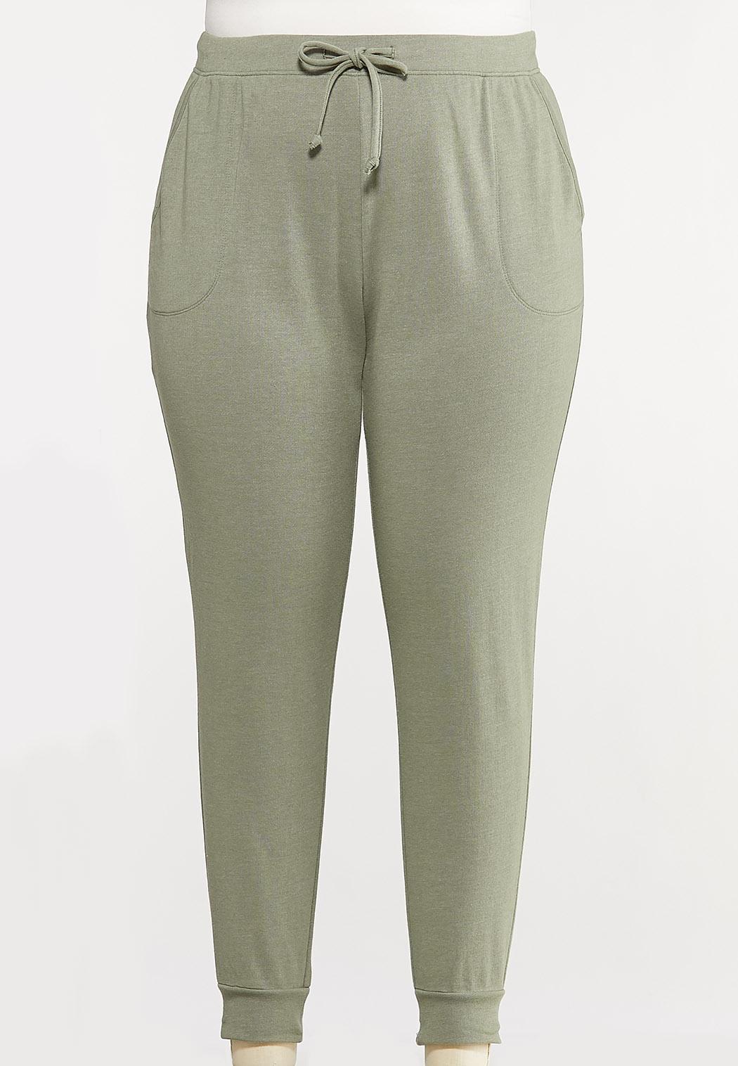 Plus Size Cozy Jogger Pants