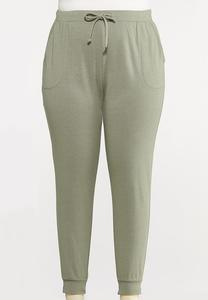 Plus Size Cozy Jogger Pants