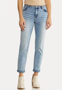 Slim Boyfriend Jeans